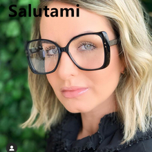 Anti-blue Light Oversize Glasses Frame For Women Big Frame B