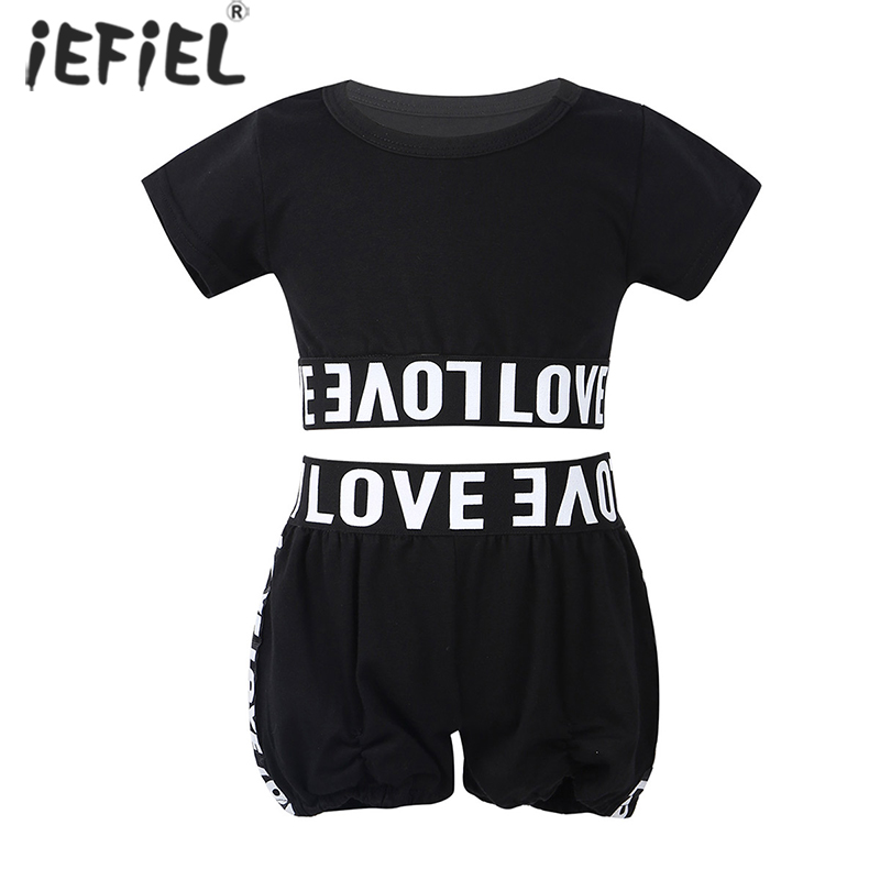 1-6T Baby Clothes for Girls Kids Clothes Sportswear Set Children Casual Tracksuit Leopard Outfit for Workout Gymnastics Fitness
