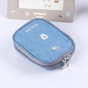 Image 5 - Mini ilk yardım çantası taşınabilir kamp açık tıbbi çanta taktik askeri ilk yardım çantası aile yürüyüş araba acil Survival çanta
