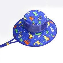 Панама летняя для мальчиков воздухопроницаемая пляжная шляпа
