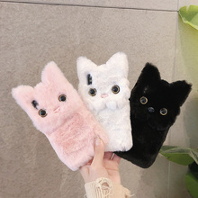 Winter Warm Plush Phone Case for iPhone