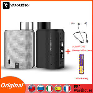 Original Vaporesso Vape SWAG 2 Box Mod 80W for NRG PE SE Tank GT Coil Core 25mm 510 thread