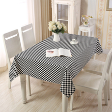 Lanke table cloth rectangular Waterproof Oilproof With Tassel , Dining Tablecloth for Home  Christmas Birthday Party