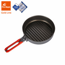 Fire Maple Gold Garis Lapisan Teflon Non-stick Wajan untuk Camping Hiking(China)