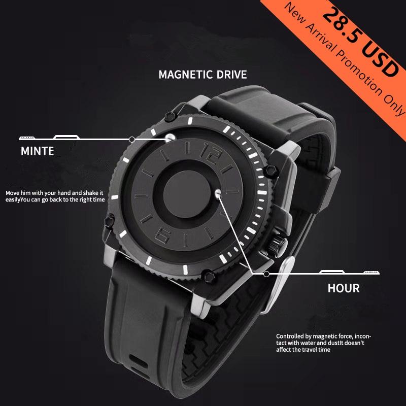 2020 Men's Watch Leisure Sports Senior Military Luxury Design Men's Quartz Wristwatch Bracelet Men's Watch Rubber Strap