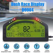 12V DPU Rally Gauge Digital Display LCD Screen Race Dash Universal Dashboard Sensor Kit bluetooth Connection 9000 Rpm DO904