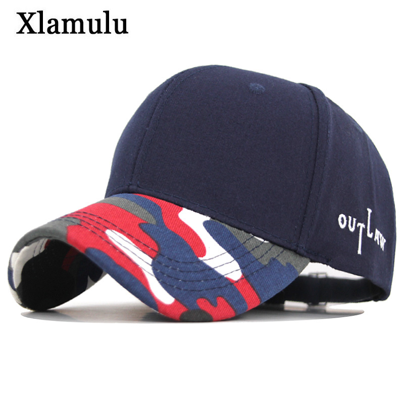 Xlamulu Summer Men Baseball Cap Mesh Cap Bone Gorras Casquette Camouflage Women Snapback Hat Men Hip Hop Male Dad Hat Men Cap