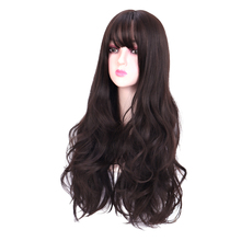 Long wave Hair Wig high temperature fiber Synthetic Wigs For