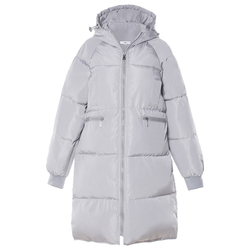 Fashion Thick Warm Women Winter Coat Hooded Full Sleeve Pockets Simple   Parka   Mujer Caual Ladies Jacket Chaqueta Mujer 2019