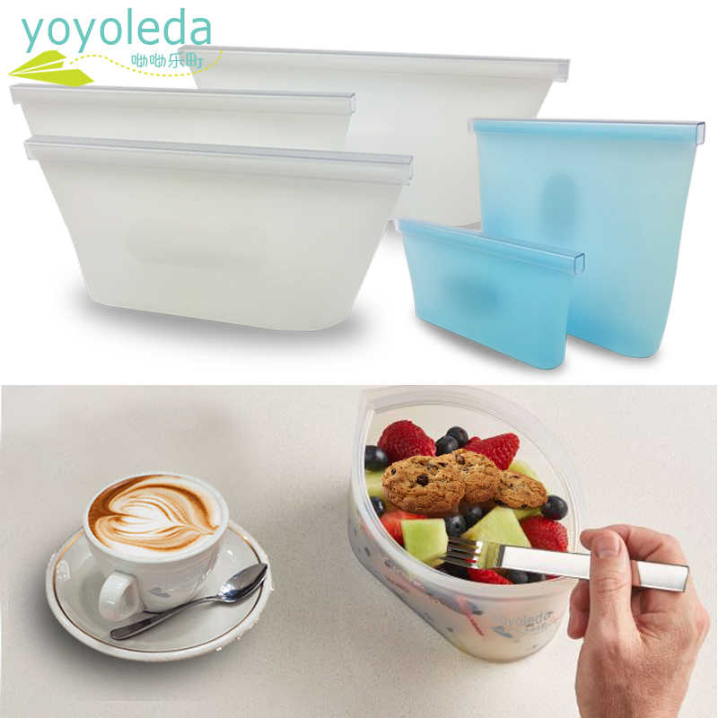 Children Tableware Silicone Dish Set Food Snack Bowl Cup Bag Kids Reusable Environmental Tableware Baby Feeding Dishes Lunch Box