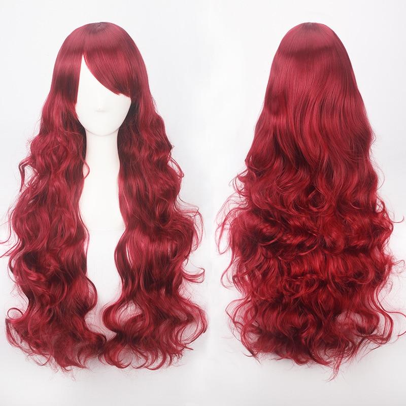 Long Multicolored Wig 3