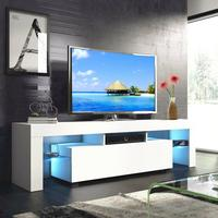 160cm tv stand living room furniture led modern tv table entertainment center monitor stand flat screen riser cabinet console