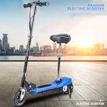 Electric Scooter Colorful Color 6 inch Wheel Easy Folding E-Scooter Electric Skateboard Bic