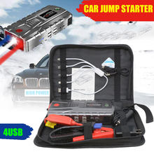 Super Power Car Jump Starter Power Bank 800A 4USB Portable Car Battery Booster Charger 12V Starting Device Petrol Diesel Car Starter(China)