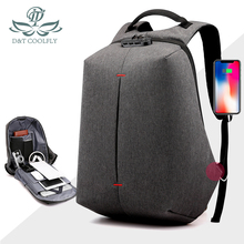 2020 New Fashion Laptop Backpack 16inch Waterproof USB Charge Large Capacity Nylon Hiking Travel School Polyester Zipper Bag
