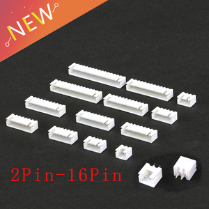50PCS/Lot XH2.54 Pin Header Connector 2P 3P 4P 5P 6Pin 2.54mm Pitch XH For PCB jst