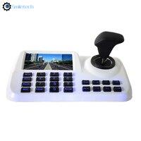 Rete 4D joystick IP tastiera di controllo PTZ onvif 2.4 dello zoom del fuoco della preset di pattuglia di lavoro con HIKVISION DS o DAHUA PTZ della macchina fotografica