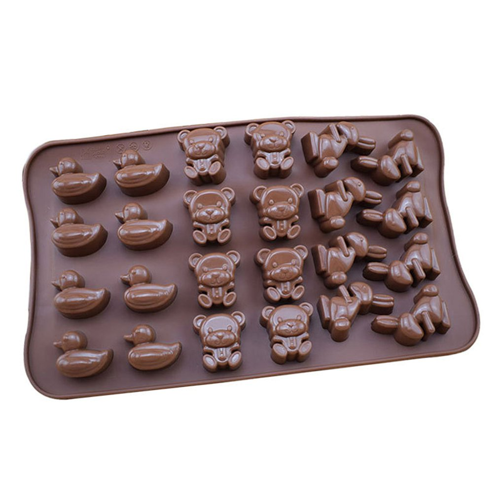 Silicone-Robot// Cactus Ice Cube Tray Mould Shape Chocolate