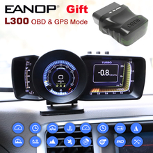 Lcd-Display Brake-Test Head-Up Auto-Scanner Trip Computer L300 Eanop Hud Turbo OBD2 Digital