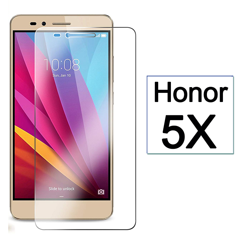honor5x protective glass on for Huawei honor 5x Screen Protector huawie honer 5 x x5 Huawei5x armor Tempered Glas 9h sheet Film