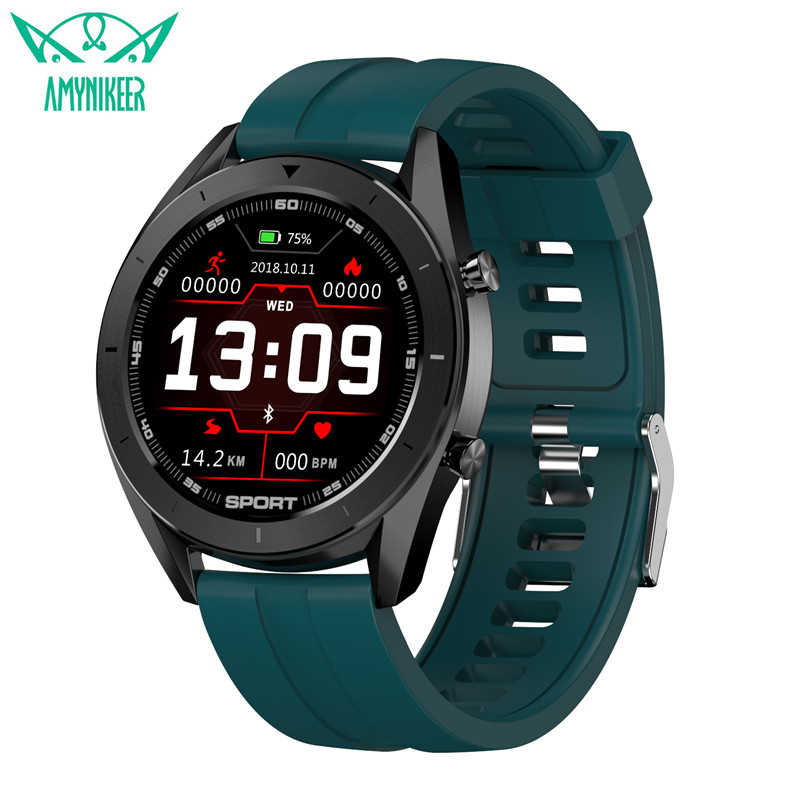 AMYNIKEER Fashion Watch Music-Control Ecg-Heart-Rate DT99 DT88DT98 Ip68 Waterproof Monitor title=