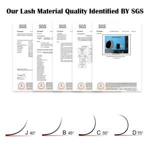 Image 5 - NAGARAKU 50cases wholesale   7~15mm mix 16rows/case naturally artificial mink eyelash extension, hand make, natural long