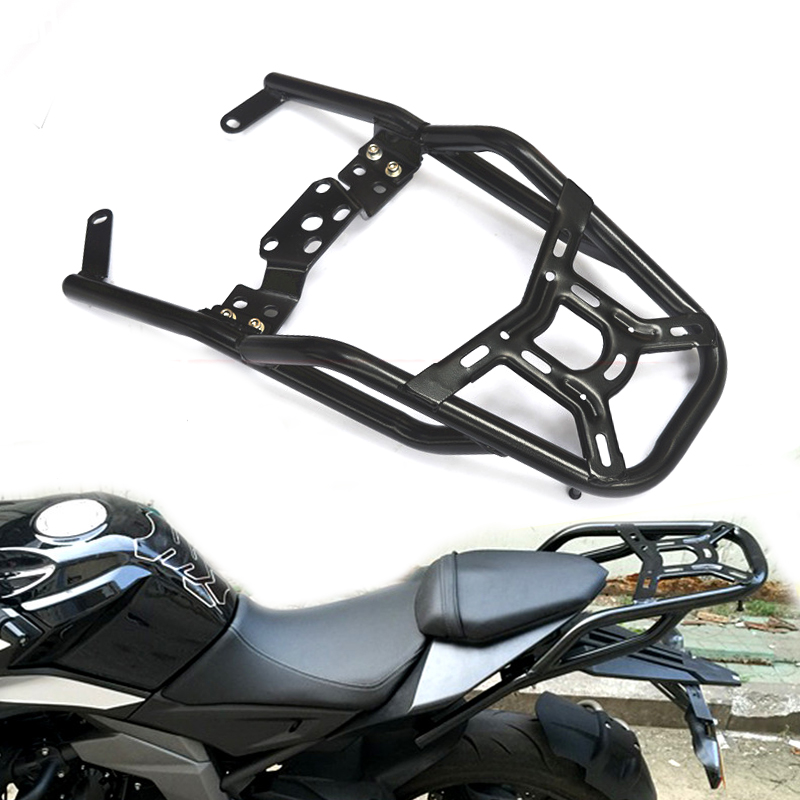 Motorbike Parts For CF MOTO 400NK 650NK 16-18Luggage Rack Bar Accessories Motorcycle Rear Tail Wing Shelves Armrest Holder Guard