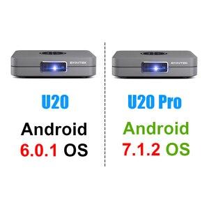 Image 3 - BYINTEK U20 Full HD 1080P 3D 4K Android Smart Wifi Portable Mini LED DLP Projector Beamer for Smartphone