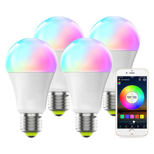 Lamp-Bulb Nightlight Magic Smart Bombilla Remote-Control Dimmable 16-Color IR Holiday