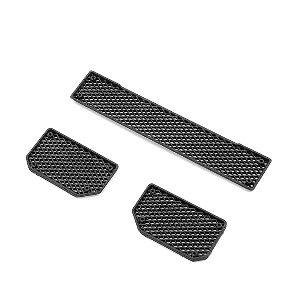 3pcs Replacement Front Bumper Intake Grille for TRAXXAS TRX6 G63 TRX4 G500 RC Crawler DIY Model Car Parts