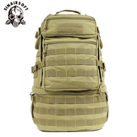 65L Large Capacity Tactical Backpack Military Army Molle Bag Waterproof Outdoor Assault Pack for Trekking Camping Hunting Bag