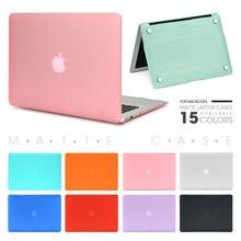 Чехол для ноутбука Apple Macbook Mac book Air Pro retina, новинка, сенсорная панель 11, 12, 13, 15 дюймов, Жесткий Чехол для ноутбука, чехол 13,3, чехол