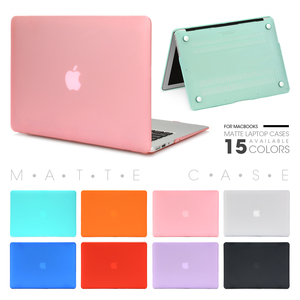 Laptop Case For Apple Macbook Mac book Air Pro Retina New Touch Bar 11 12 13 15 inch Hard Laptop Cover Case 13.3 Bag Shell(China)
