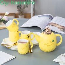 Корейский симпатичный многоцветный Ананасовый керамический кофейный