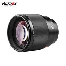 Viltrox 85 мм F1.8 STM Профессиональный Камера объектив с фиксированным фокусным расстоянием с блендой металлический Поддержка байонет с автоматической фокусировкой AF для sony Камера фон для фотосъемки