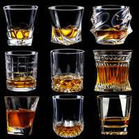 Estilo Europeo whisky de casa de vidrio de vino de cristal BARRA DE VIDRIO espíritu de cerveza de vidrio juego de vino de cristal gran oferta de buena calidad