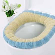 Универсальная мягкая и толстая Подушка для унитаза из сковородного