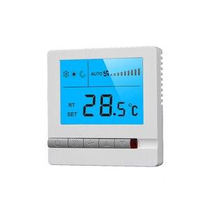 ABS Strumenti Incorporato Riscaldamento a Pavimento Digitale Ambiente Domestico Aria Condizionata Centralizzata Sicuro Pannello di Visualizzazione A CRISTALLI LIQUIDI Termostato Programmabile(China)