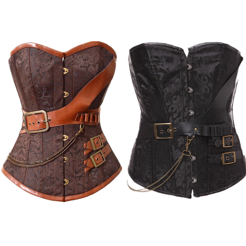 Image 5 - Middle Ages Costumes Gothic Corset Retro Lolita Strap Victoria Halloween Carnival Party Warrior Medieval Cosplay for Women Dress-in Holidays Costumes from Novelty & Special Use