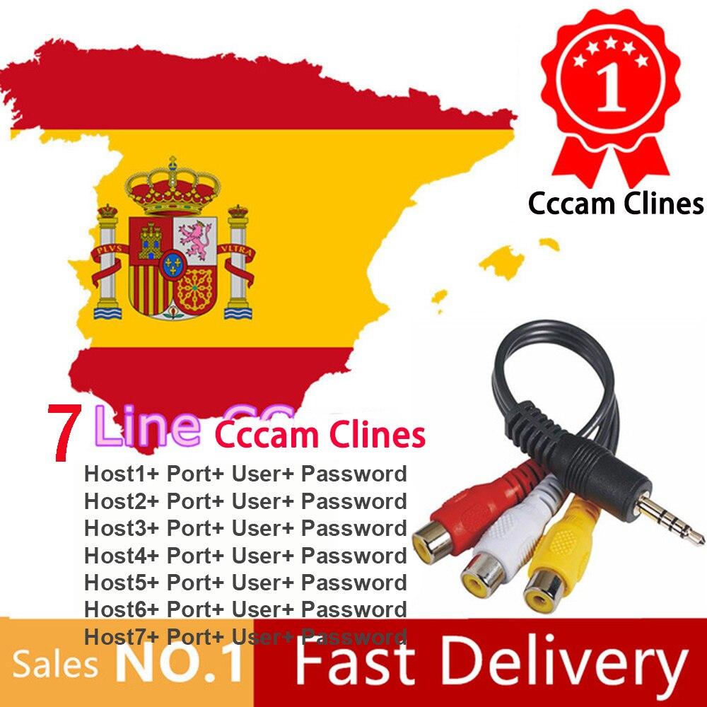 2020 Egygold DVB-S2 7 Cccam Clines Free Test Portugal Poland Lnb Receptor Europe Server HD Satellite TV Receiver GTmedia V8 Nova