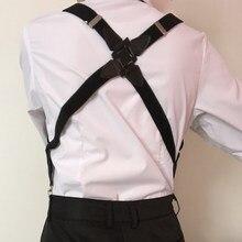 Fashion Suspenders Adult Women Men X Shape Clip-on Suspender Adjustable Elastic Trouser Braces Straps Belts Apparel Accessories