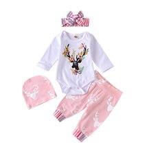 3 предмета Детский мягкий комбинезон с длинным рукавом штаны