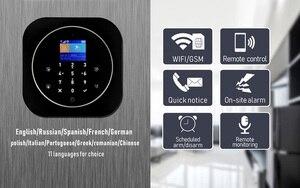 Image 4 - Sgooway Bàn Phím Cảm Ứng Tuya Cuộc Sống Thông Minh Wifi GSM Nhà Hệ Thống Báo Động Không Dây Với IP Video Camera Alexa Google Home