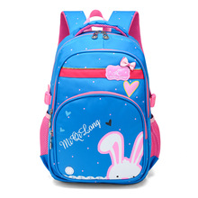 New Printed Cartoon Cute Rabbit Shoulder Bag Primary and Secondary School Students  Bags for Teenage Girls