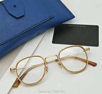 Gentle Brand Optical Prescription Glasses Frame Men 2020 New Fashion Vintage Square Eyeglasses Women Myopia Spectacle Eyewear