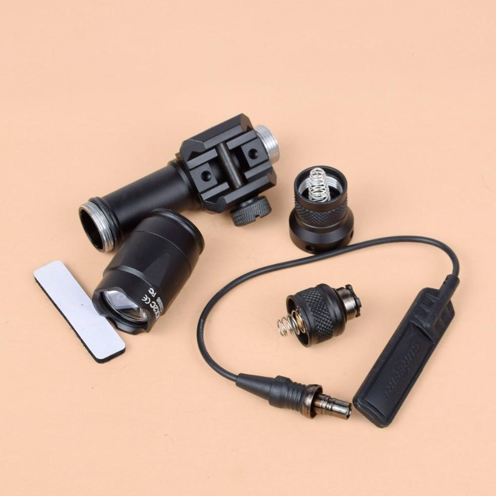 Tático Surefir M600C M600U Escoteiro Luz LED