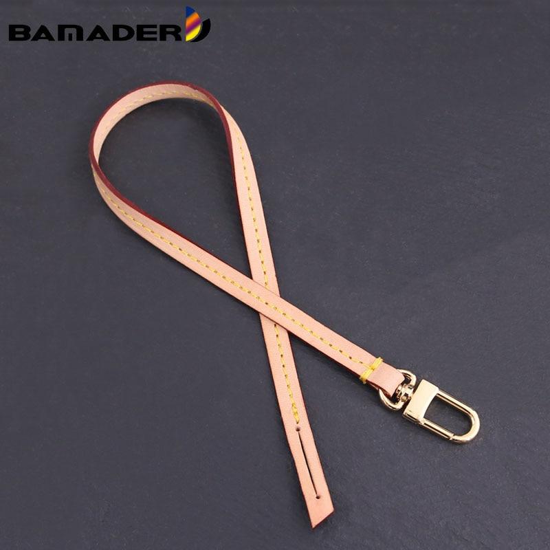 BAMADER 38.5cm Detachable Bag Handle Replacement Bag Strap Genuine Leather Shoulder Strap Bag Part & Accessories Fashion Strap