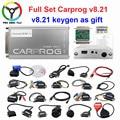 Автомобильный инструмент для ремонта Carprog V8.21, онлайн-версия, полный набор прошивки автомобиля 8,21, инструмент для настройки чипа ECU лучше, че...