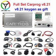 Carprog v8.21 versão em linha ferramenta de reparo automóvel conjunto completo carro prog firmware 8.21 ecu chip tuning ferramenta melhor do que carprog v9.31