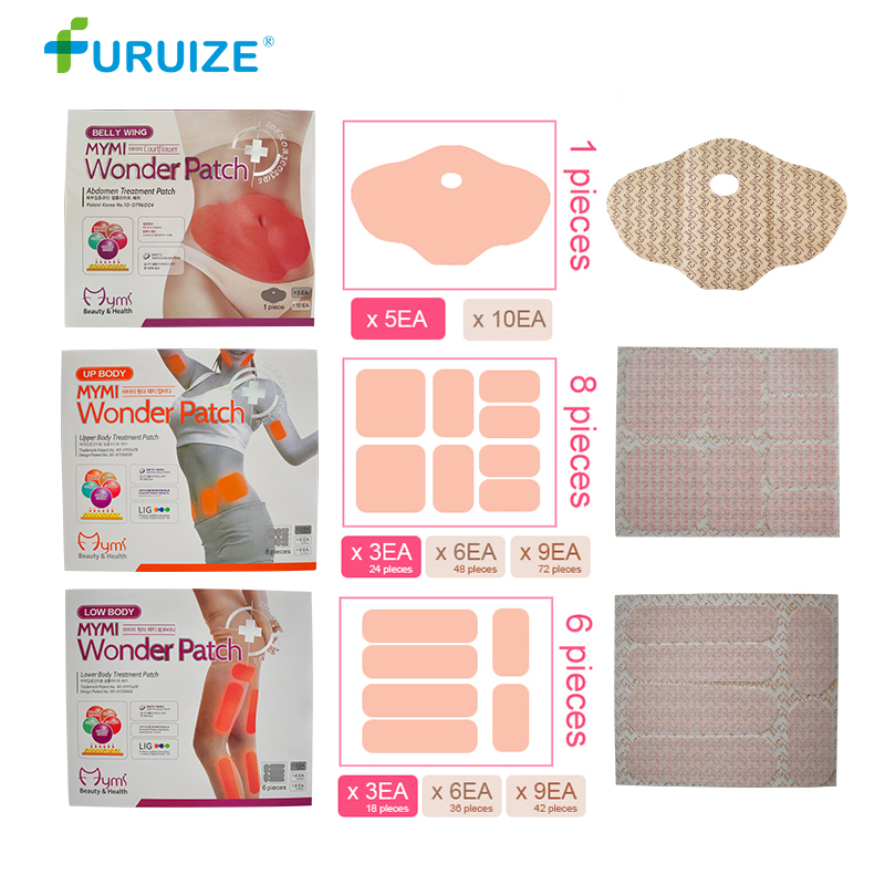 Wholesale Furuize Weight Loss product slim patch leg Partia Belly wing Fat Burning Slimming patch Health Care Mymi wonder patch in Slimming Product from Beauty Health
